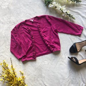 Lilly Pulitzer Pink Cardigan